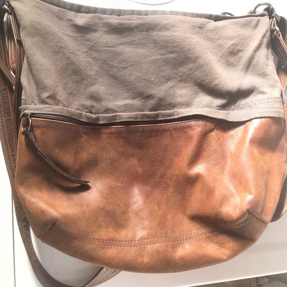 293f2b48402c Rough & Tumble Bags   Euc Rough Tumble City Safari Hobo Bag Large ...